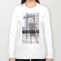 jessica lange Long Sleeve T-shirts featuring Jessica Lange Fiona Goode Supreme by NameGame