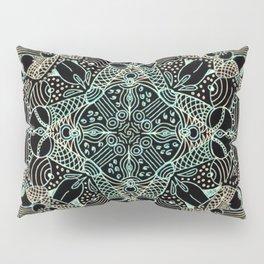 Doodles & Bits Lacy Mandala Pillow Sham