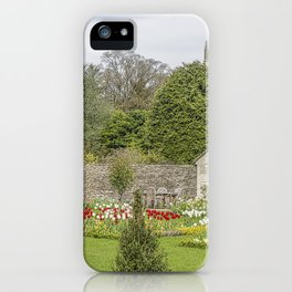 English Garden. iPhone Case