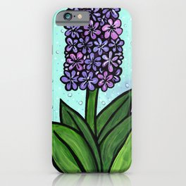 Hyacinth in Spring iPhone Case