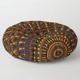 Quasicrystalline Sunrise Floor Pillow