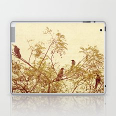 birds in trees Laptop & iPad Skin