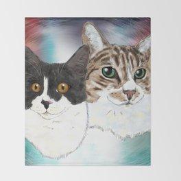 Lily and Sasha Throw Blanket