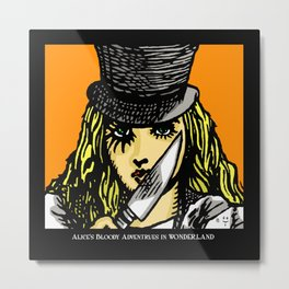 A Clockwork Wonderland Metal Print