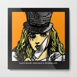 A Clockwork Wonderland Metal Print