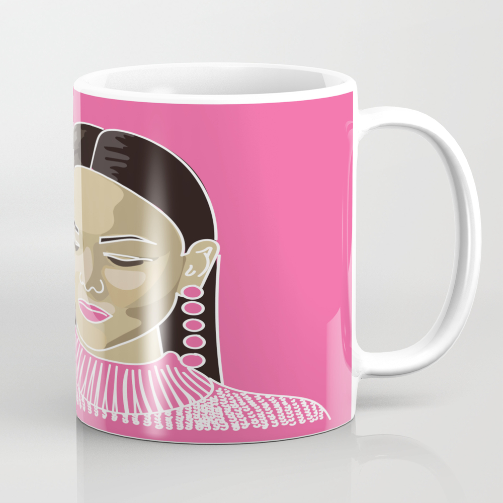 Jane Pink Mug by Denishastorie MUG8725551