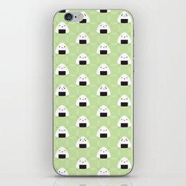 Kawaii Onigiri Rice Balls iPhone Skin