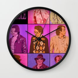 Body Double Wall Clock