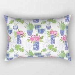 Chinoiserie Cactus Rectangular Pillow