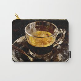 Espresso - watercolor Carry-All Pouch