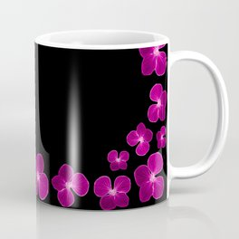 Magenta Flower Chain Coffee Mug