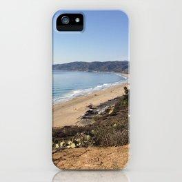 Malibu, California - Coastline iPhone Case