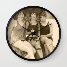 Maggie, Millie and Molly Wall Clock