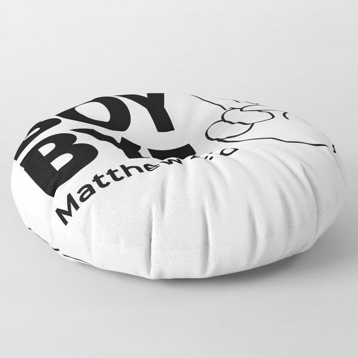 Boy Bye Floor Pillow