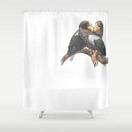 Steller's Sea Eagle (Haliaeetus pelagicus) Shower Curtain
