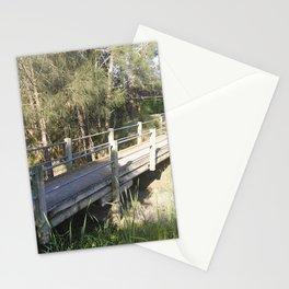 timber bridge Stationery Cards