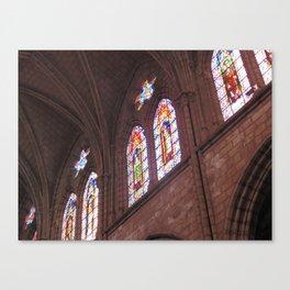 La Basílica del Sagrado Voto Nacional, Seis Canvas Print