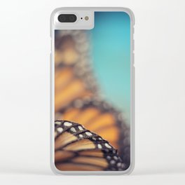 On the edge of Flying Clear iPhone Case