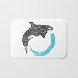 Orca Circle Bath Mat
