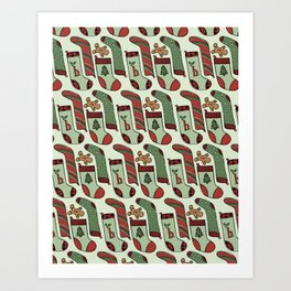 Stocking Stuffers Art Print