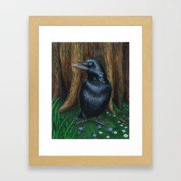 The Groundbird Framed Art Print