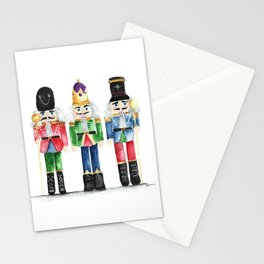 Three Little Nutcrackers Stationery Cards