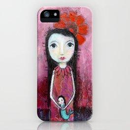 Mermaid Friend iPhone Case