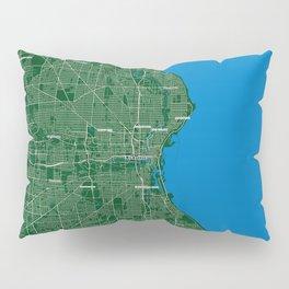 FanMap | NBA Milwaukee #01 Pillow Sham