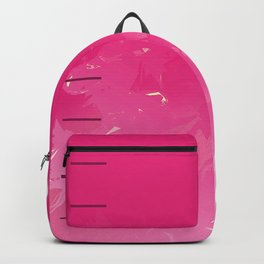 Pink Abstract Passion Backpack