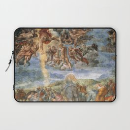 """Michelangelo """"The Conversion of Saul"""" Laptop Sleeve"""