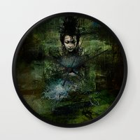 chinese Wall Clocks featuring Chinese shade by Ganech joe
