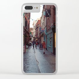 Gandy Street Clear iPhone Case