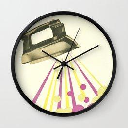 Steamy Wall Clock