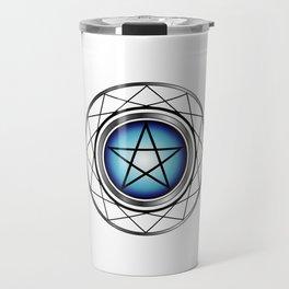 Glowing Pentagram Travel Mug
