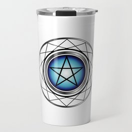 Glowing Pentagram Travel Mug