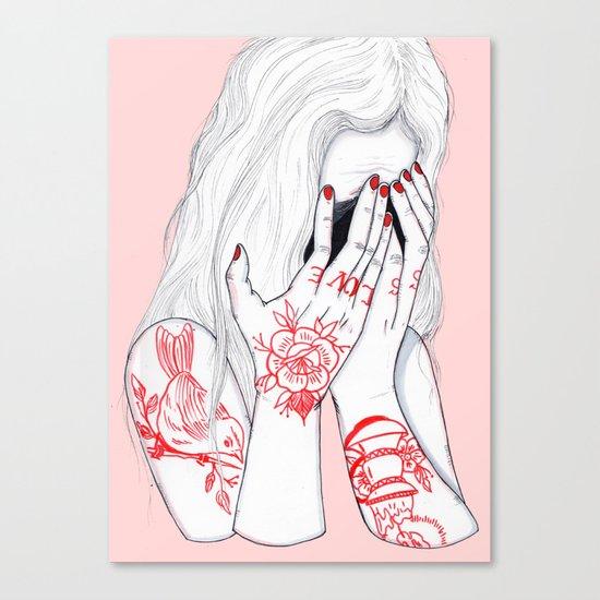 Love Loss Canvas Print