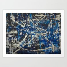 Cobalt Art Print