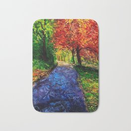 Autumn Breeze Bath Mat