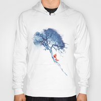 calm Hoodies featuring There's no way back by Robert Farkas