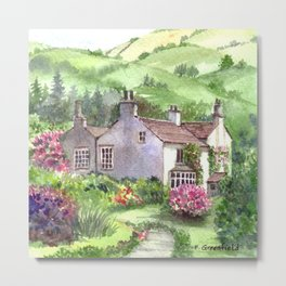 Wordsworth's Home Metal Print