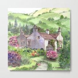 Wordsworth's Home Metal Print