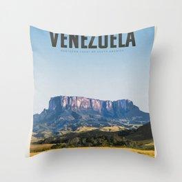 Visit Ven Throw Pillow