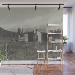 CABIN FEVER Wall Mural