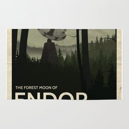 Forest Moon of Endor Rug