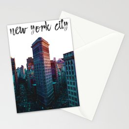 New York City The Flatiron Building Stationery Cards