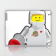 Vintage Lego White Spaceman Minifig Laptop & iPad Skin