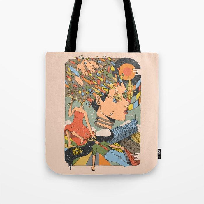 A Shattered Mind Tote Bag