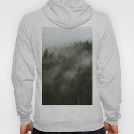 Pacific Northwest Foggy Forest Hoody