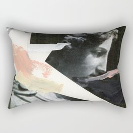 Untitled (Painted Composition 3) Rectangular Pillow