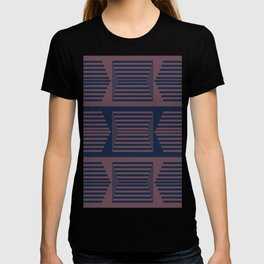 Bicolor Geometric X T-shirt